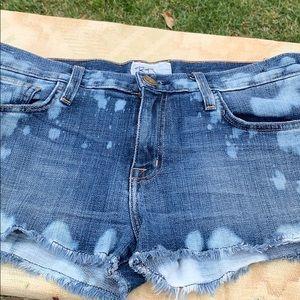 Fun bleached shorts